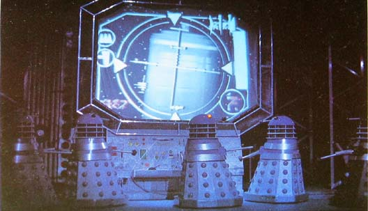 The Daleks ensnare the TARDIS